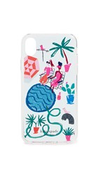 Kate Spade New York Rooftop Sunning Iphone Case Multi