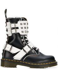 Dr. Martens Strappy Studded Boots 60