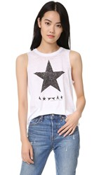 Chaser Black Star David Bowie Tank White