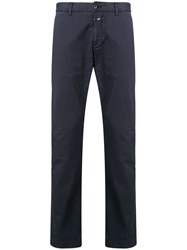 Closed Classic Chino Trousers Blue