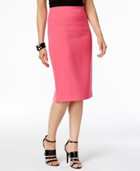 Alfani Classic Pencil Skirt Only At Macy's Brilliant Berry