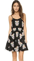Caroline Constas Demi Dress Black Multi
