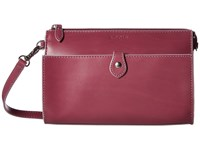 Lodis Audrey Vicky Convertible Crossbody Clutch Beet Iced Violet Clutch Handbags Pink