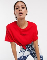 Cheap Monday Perfect Logo T Red