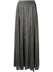 Missoni Vanise Metallized Skirt Silver