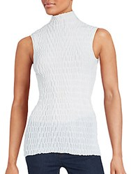 Akris Solid Textured Tank Top Anemone