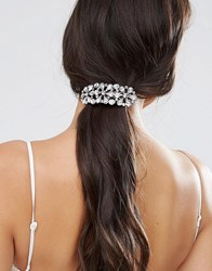 Asos Winter Jewel Hair Barrette Crystal Clear