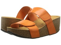 Eric Michael Cody Orange Women's Wedge Shoes