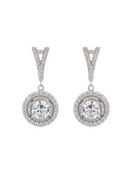 Mikey Sterling Silver 925 Stem Circle Earring N A N A