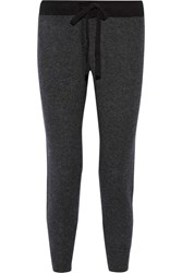 James Perse Genie Cashmere Track Pants Anthracite