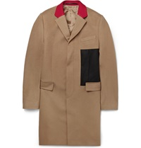 Givenchy Wool And Cashmere Blend Overcoat Brown