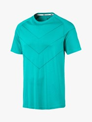 Puma Reactive Evoknit Training Top Turquoise Heather