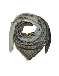 Marina D'este Shawls And Wraps Printed Wool And Acrylic Shawl