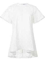 Rebecca Vallance Farina Oversized T Shirt White
