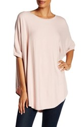 Luma Cape Sweater Pink