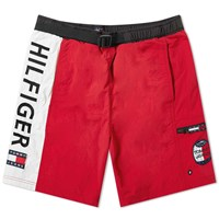 Tommy Jeans Summer Logo Short Red