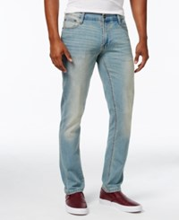 Ring Of Fire Men's Honor Slim Fit Jeans Stone