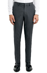 Men's Topman Skinny Fit Grey Suit Trousers