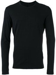 The Viridi Anne Long Sleeve T Shirt Black