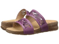 Haflinger Grace Grape Women's Sandals Purple
