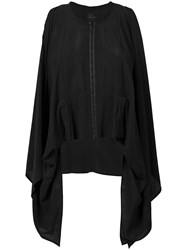Lost And Found Rooms Sleeveless Trapeze Top Black