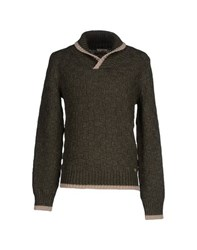 Cycle Knitwear Jumpers Men Military Green