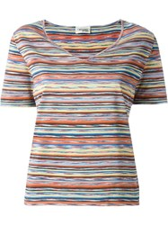 Missoni Vintage Striped T Shirt Multicolour