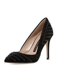 French Connection Elmyra Studded D'orsay Pump Black