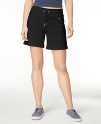Tommy Hilfiger Sport Drawstring Shorts Created For Macy's Black