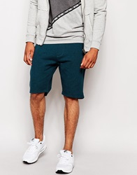 New Look Grindle Ribbed Shorts Turquoise