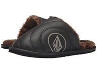 Volcom Slacker Slipper Black Black Women's Slippers