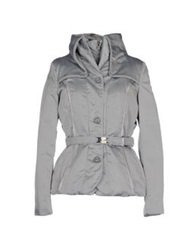 Dek'her Down Jackets Grey