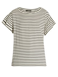 Max Mara Era T Shirt Black White