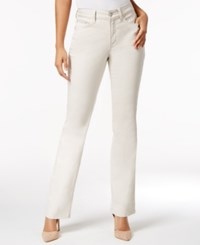 Nydj Marilyn Straight Leg Tummy Control Jeans Clay