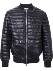 Iceberg Zipped Padded Jacket Black