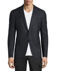 Ralph Lauren Nigel Windowpane Sport Coat Gray