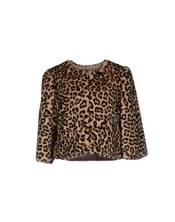 Elisabetta Franchi Coats And Jackets Faux Furs Women