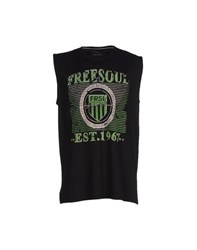 Freesoul Topwear T Shirts Men Black