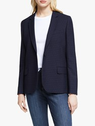 Paul Smith Ps Classic Polka Dot Blazer Navy