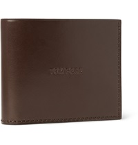 Tom Ford Leather Billfold Wallet Brown