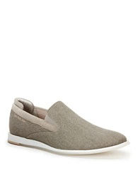Calvin Klein Denny Canvas Loafers Grey