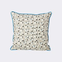Ferm Living Spotted Cushion Grey Gray
