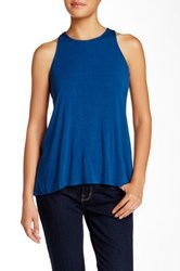 Abs By Allen Schwartz Solid Tank Blue