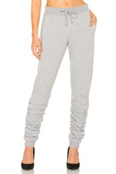 1.State Ruched Hem Jogger Gray