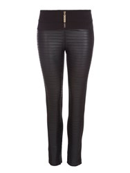 Relish Textured Skinny Trousers Black