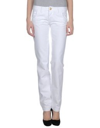Yes London Denim Pants White