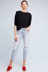 Anthropologie Loving Cashmere Pullover Black