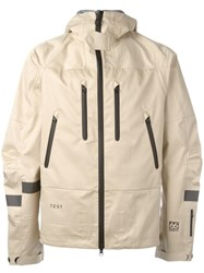 Soulland 'Meets 66O North' Wind Breaker Nude Neutrals
