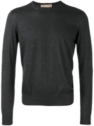 Cruciani Crew Neck Sweater Grey