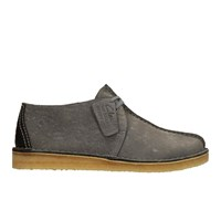 Clarks Originals Men's Desert Trek Leather Boots Blue Grey